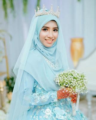 model hijab pengantin syari terbaru