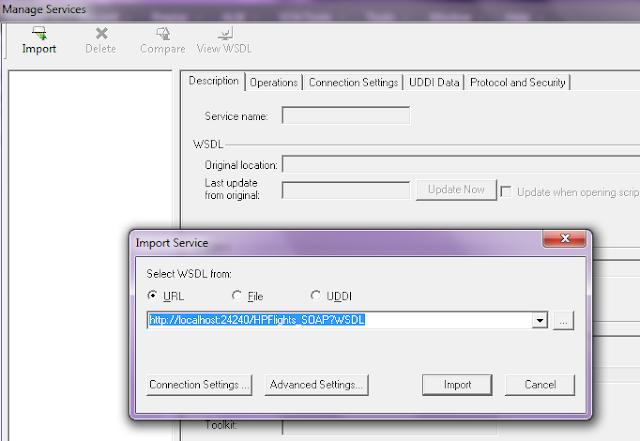 Loadrunner Web Services Scripting