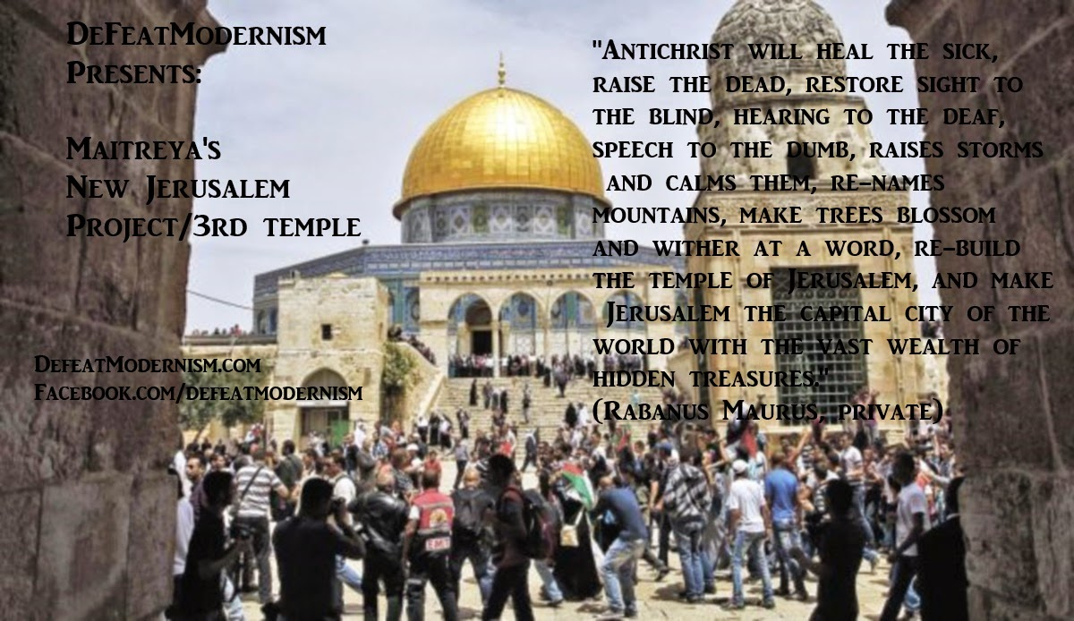 Jew Detector: TradCatKnight: Antichrist Watch: Architectural Plans For