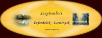 Szeptemberi események, évfordulók