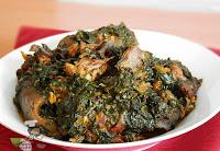 afang soup,nigerian soup recipes, nigerian food tv