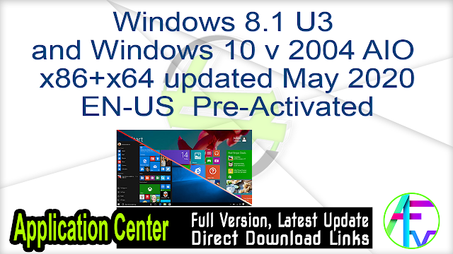 Microsoft Windows 8.1 with Update AIO (12in1) …