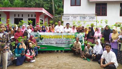 PKH Kecamatan Pituruh Laksanakan Penanaman Seribu Pohon di Desa Somogede