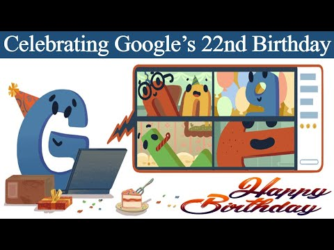 Google celebrates 22nd birthday