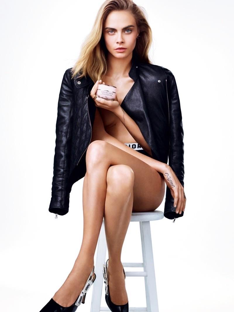 Cara Delevingne Dior'un Kampanyasında
