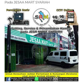 Pemasangan CCTV Online Pada Jesaa Mart Syariah