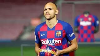 Barcelona new signing Braithwaite returns back to madrid