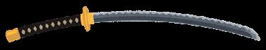 日本刀のイラスト(太刀)