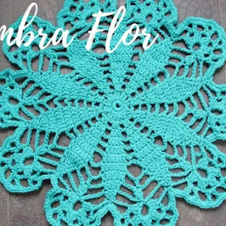 Tapete Flor a Crochet
