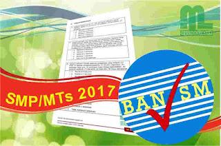 Instrumen dan Perangkat Akreditasi SMP-MTs 2017