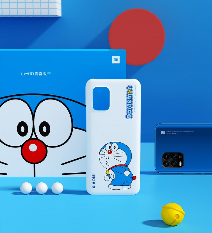Xiaomi Mi 10 Youth Doraemon Edition Protective Cover