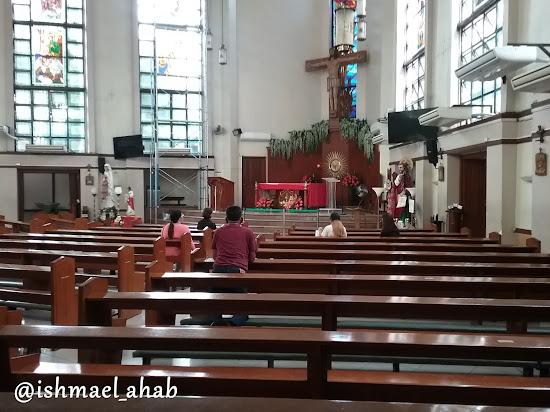 Inside National Shrine of Saint Jude