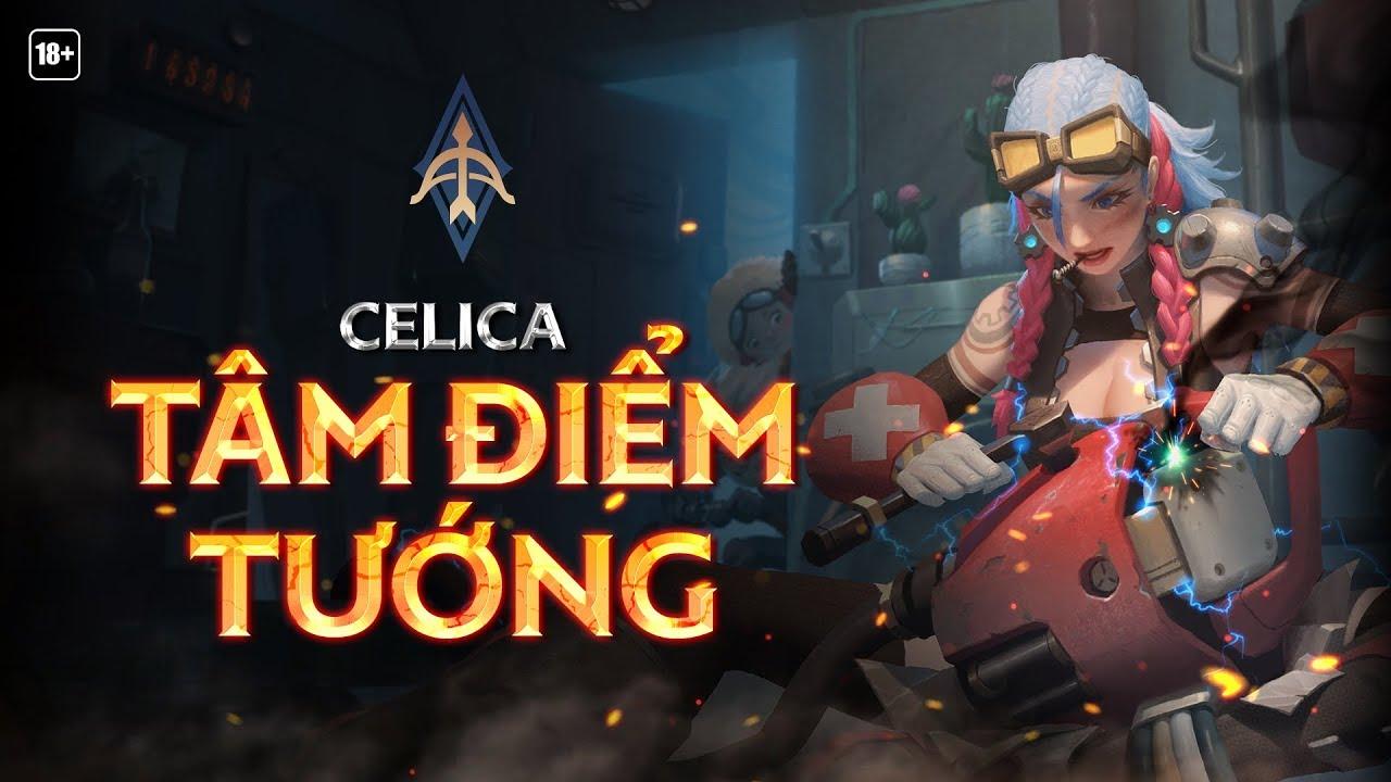 Cách lên đồ Celica - Bảng ngọc, cách chơi Celica mạnh nhất