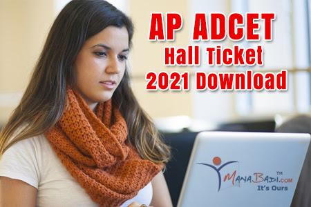 AP ADCET 2021 Admit Cards