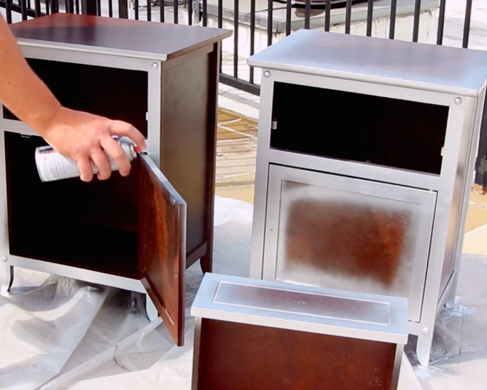 Diy Mirrored Nightstands Hack Mirrored Furniture