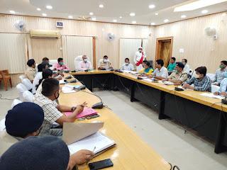 meeting-for-panchayat-election-madhubani