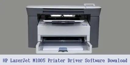 HP LaserJet M1005 MFP Printer Scanner Driver Software