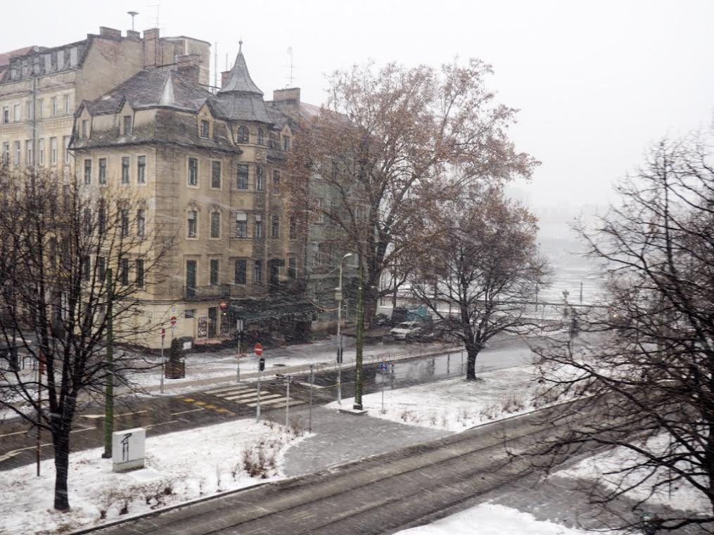 Budapest bus tour in the winter