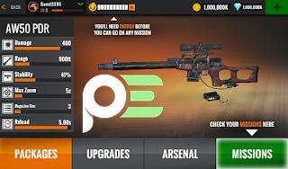 Sniper 3D Assassin للأندرويد