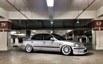 Civic Ferio Silver Hellaflush