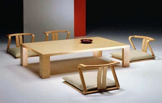 Traditional Japanese Table Design Photo