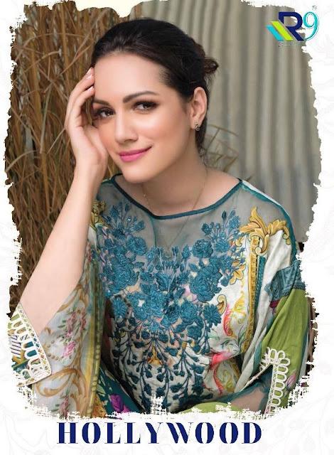 R9 Designer Hollywood Pakistani Suits wholesale