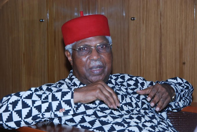 Alex Ekwueme's wife at 85 received a message from buhari