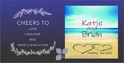 Beach Templates Wedding Gradasi