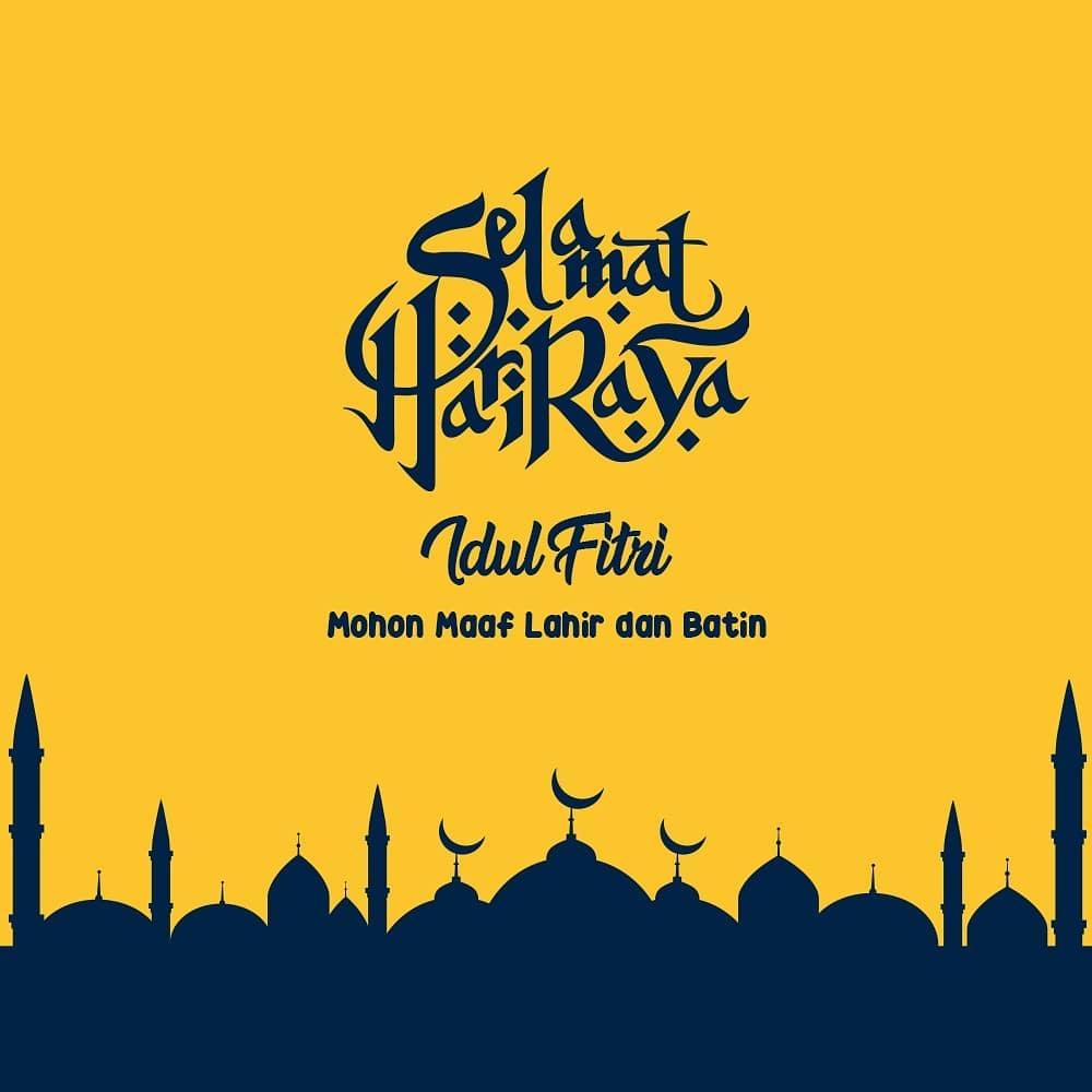 Kumpulan Gambar Idul Fitri Eid Mubarak Untuk Whatsapp Fb