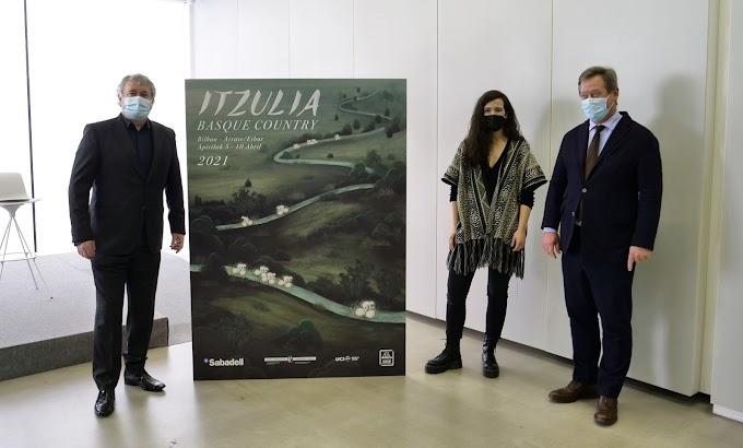 La Vuelta al País Vasco presentó el cartel de la edición de este año elaborado por Miren Asiain Lora