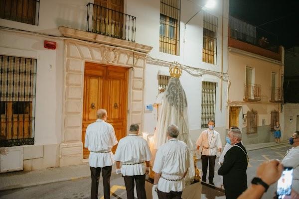 Así llegó la Virgen del Carmen a la iglesia de Santa Catalina de Rute