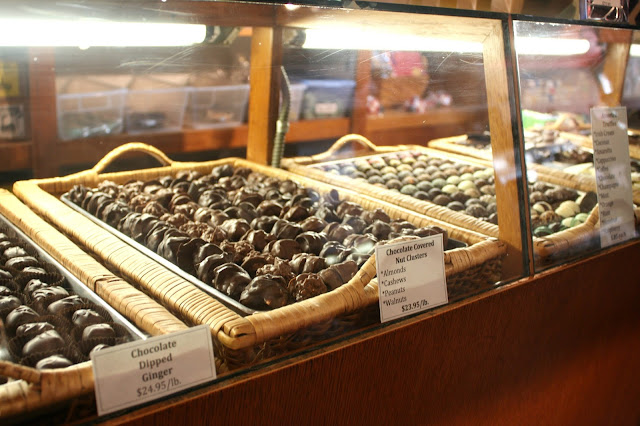 Handmade chocolate at Lagomarcino's