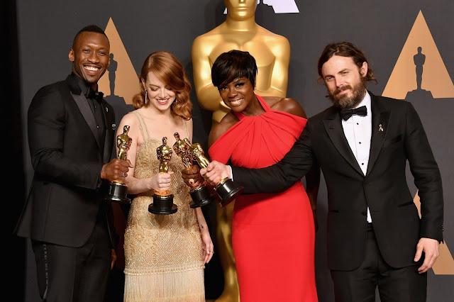 La lista de ganadores de  la 89ª edición de los  Premios Oscar