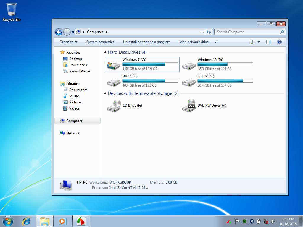 Hướng dẫn Cài Windows 7 song song Windows 8/8.1/10 chuẩn UEFI - GPT chi tiết