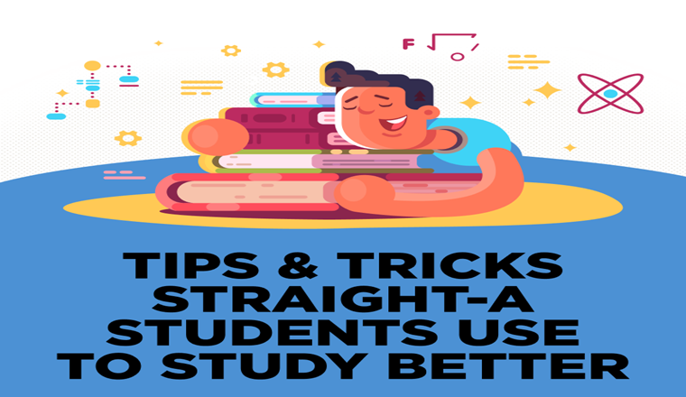 How To Become A Straight-A Student #Infographic