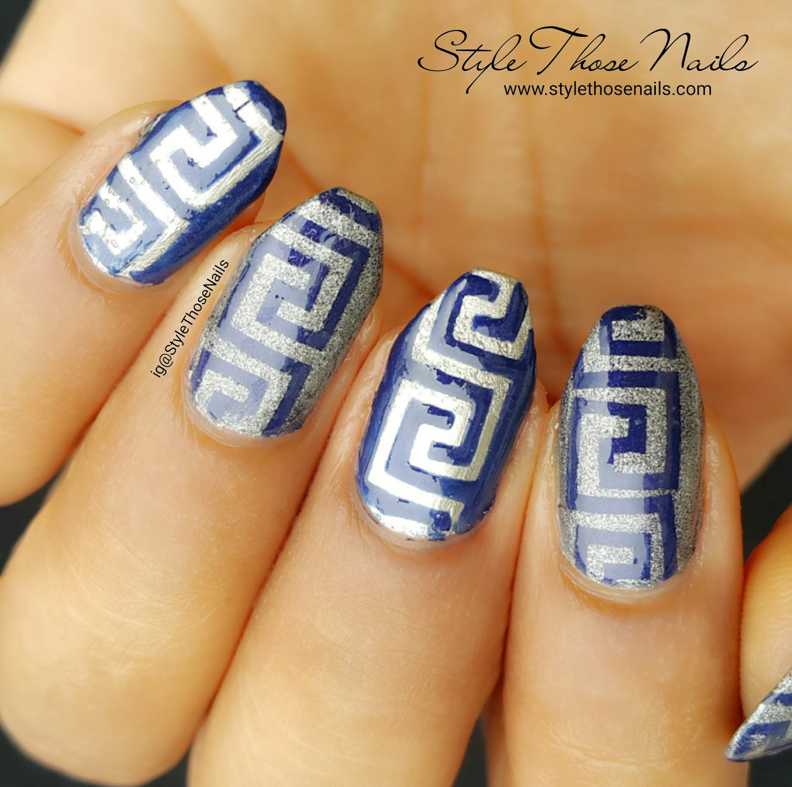 Style Those Nails Greek Nails Bday Collab