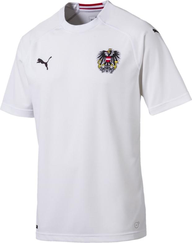 Puma apresenta a camisa reserva da Áustria - Show de Camisas 5f5ba33c3a149