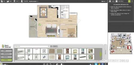 Marzua top 10 mejores aplicaciones para hacer planos de for Programa interiorismo online