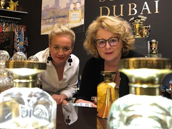 Nina Kowalewska-Motlik uwielbia opowiadać klientkom o swoich perfumach i arabskiej kulturze.