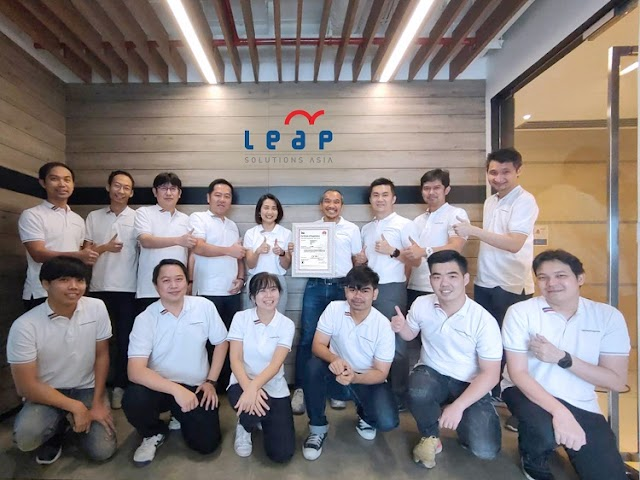 Leap Solutions Achieved ISO/IEC-27701: PIMS, the first in Thailand