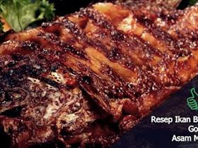 Resep Masakan Ikan Bawal Goreng Asam Manis