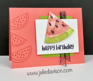 12 April 2021 Paper Pumpkin: So Cool Alternative Projects + VIDEO ~ www.juliedavison.com #stampinup #paperpumpkin""