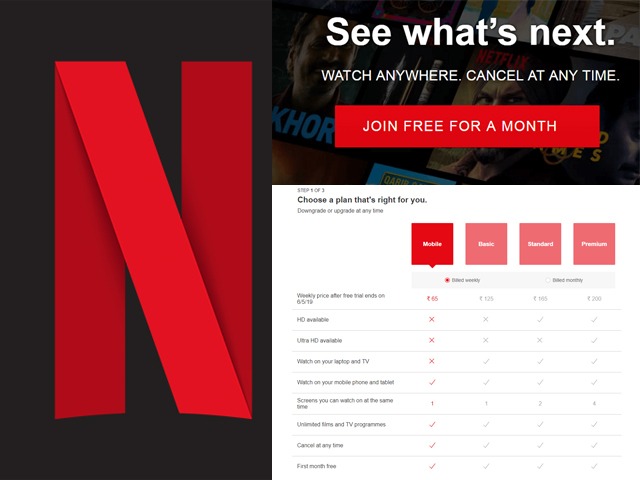 Netflix: the trial period is back, but in another format