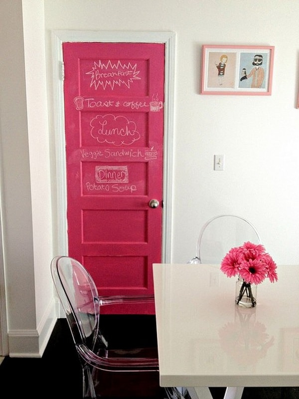 Colored Interior Doors 7