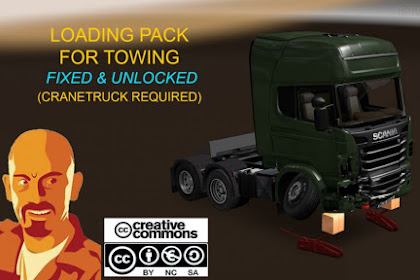 Loads Pack for Crane Trucks 1.35.x DX11
