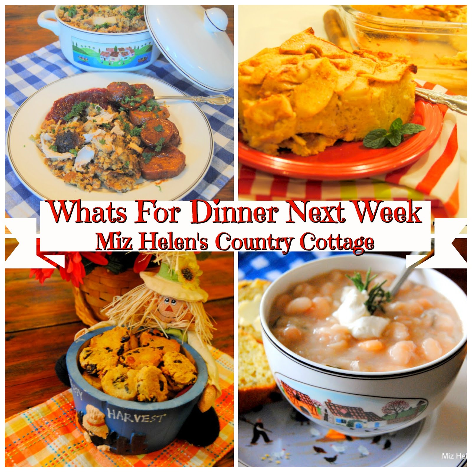 Whats For Dinner Next Week * Week of 10-20-19