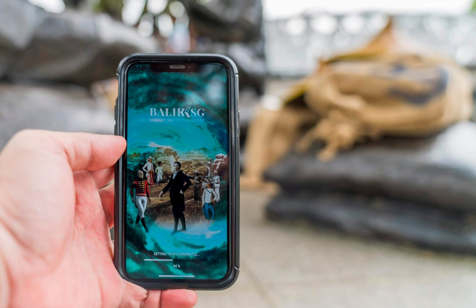BalikSG : Discover Singapore's past with Augmented Reality