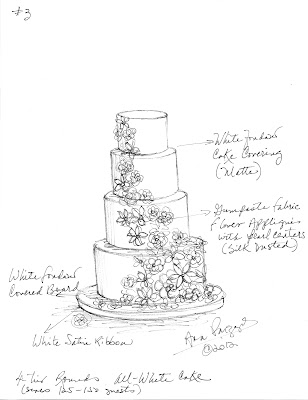 sketches of wedding cakes for the of cake by garry amp parzych june 2012 20176
