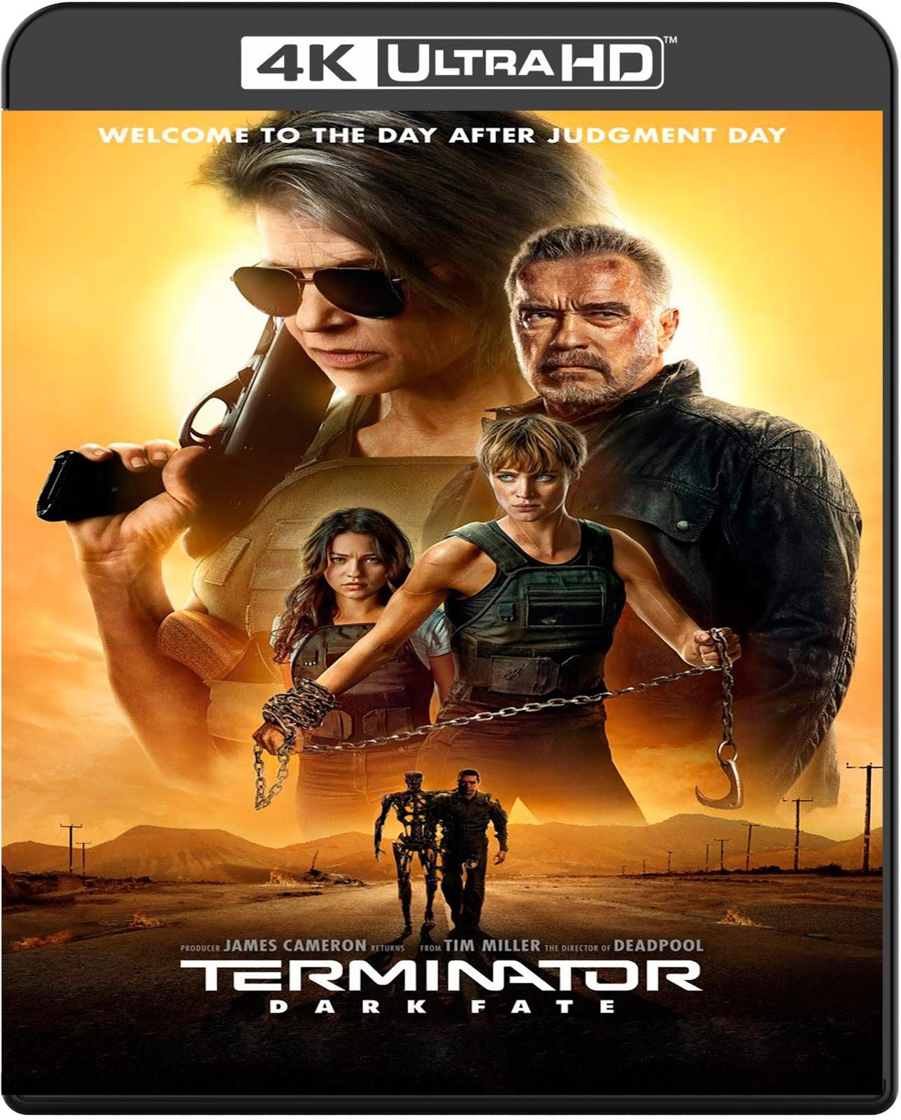 Terminator: Dark Fate [2019] [UHD] [2160p] [Latino]