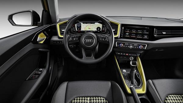 Interior Audi A1 Sportback